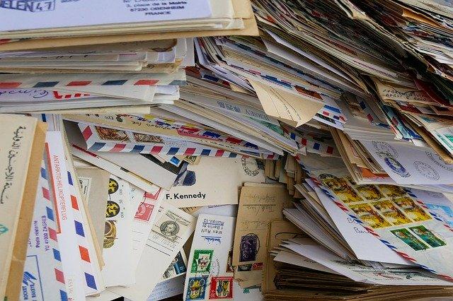writing envelopes