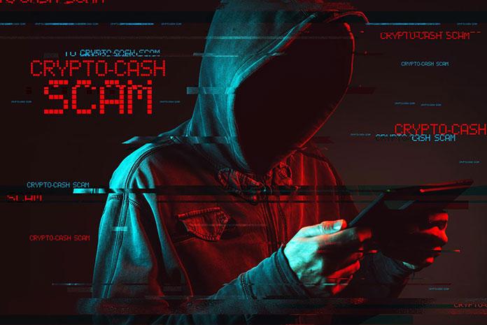 crypto scamer